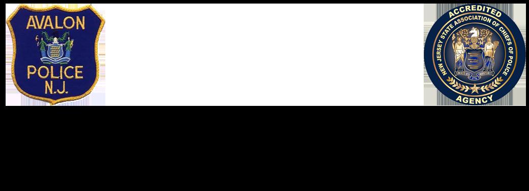 AVALON POLICE DEPARTMENT N.J. Logo