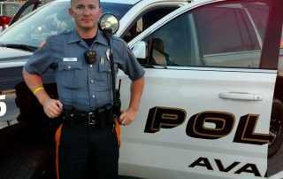 Avalon PD officer