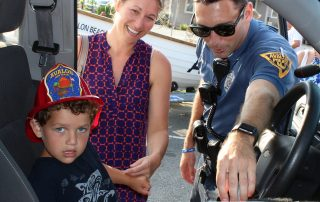 Child in Avalon Police Car NNO 2019
